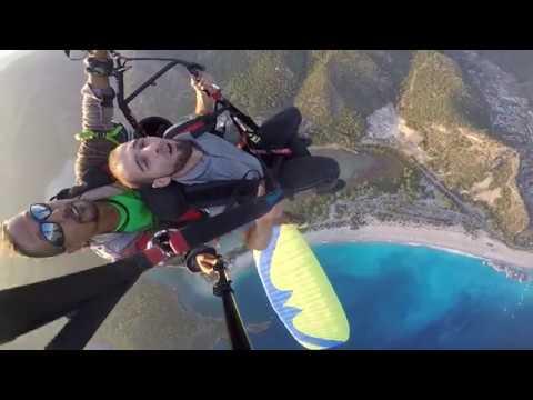 Paraşüte Laz Binerse Komik Paraşüt Videoları